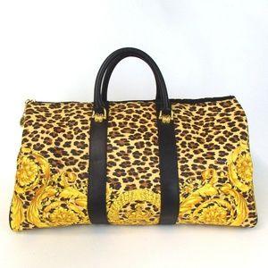 Authentic Gianni Versace Boston Bag